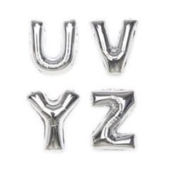 알파벳 은박풍선 (소) [O~Z]