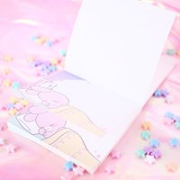[픽시] 스윗 드림 메모지 핑크래빗