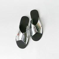 Basic cross slippers
