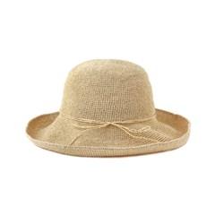 [2 colors] wide raffia  hat