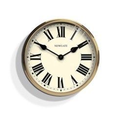파러먼트 솔리드 우드벽시계