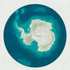 Polar map 일러스트 엽서