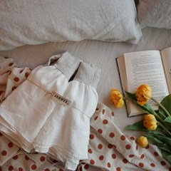 린넨 베개커버 : Linen frill pillow cover [6colors]