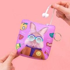 BENTOY 화장품 충전기 카드 여행용 미니 지갑 파우치_(620016)