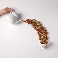 리로라 순수 홍화 꽃차