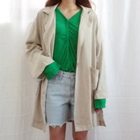 French linen jacket