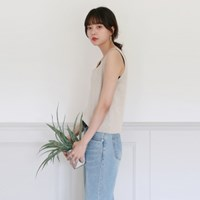 Square knit sleeveless