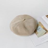 S/S linen beret
