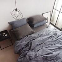 N 에스타도 천연염색 양면침구 - 네이비&블루그레이(싱글/슈퍼싱글)