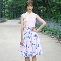 [모디] 생활한복 꽃내음분홍_저고리