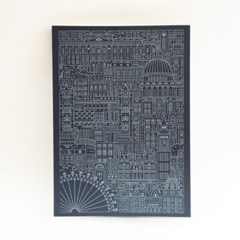 the City Works_Journals_라인드로잉A5노트