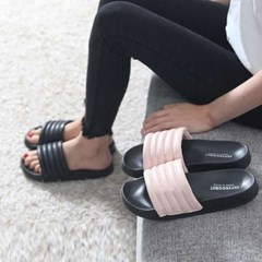 kami et muse Stitch line comfort slippers_KM17s205