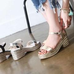 kami et muse glittering espaerille sandals_KM17s203