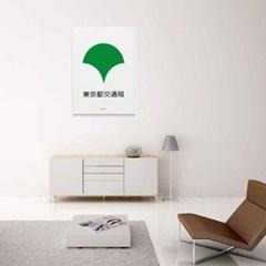 일본 인테리어 디자인 포스터 M 동경교통국 일본소품