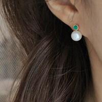오리엔탈 스노우 진주 귀걸이 oriental snow pearl earring