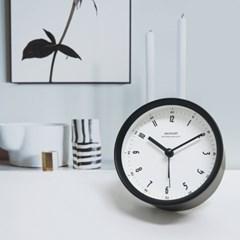 글로리탁상알람시계(블랙)