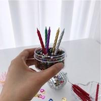 Pearl Twist Candle (10pcs set)