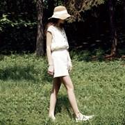 Linen Short Pants - Beige