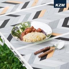 카즈미 캠핑식기 세트 15P K7T3K001 / 캠핑용품 접시세트