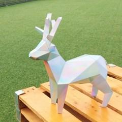 홀로그램 사슴 페이퍼트로피_인테리어소품 장식소품