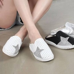 kami et muse Star punching & patch sneakers blofer_KM17s216