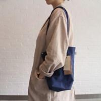 [더블유더블유]linen mini ecobag - blue