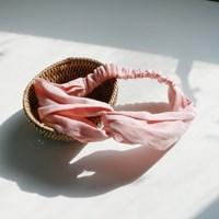 Stripe hair turban