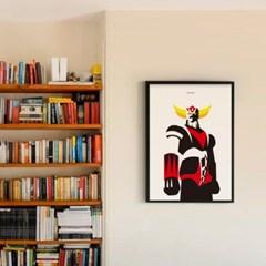 일본 인테리어 디자인 포스터 M 그랜다이져 일본소품