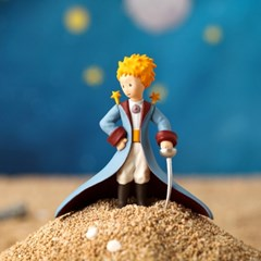 Little Prince (with Cape) Blue