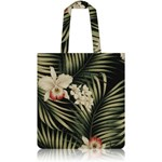 nother Fern Hawaiian Flat Tote Bag (Black)