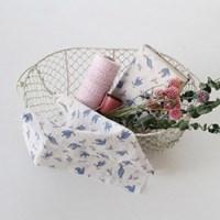 [Fabric] Fresh Beginning Pattern Linen (하드코어워싱)