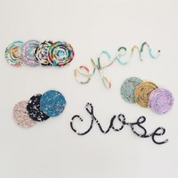 YOLO Fabric Lettering D.I.Y 패키지 10종
