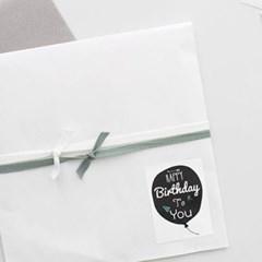 풍선 HAPPY BIRTHDAY스티커(10개)