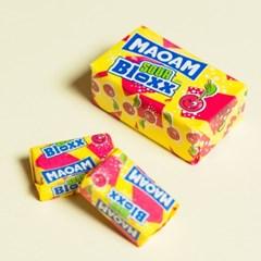 하리보 마오암 블록스 사우어 : 과일맛 카라멜