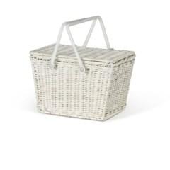 Piki Basket - White
