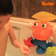 [버드시아] 디럭스 아기욕조 + 꽃게 물놀이 장난감 세트