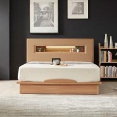 라보떼 리나 LED조명 PU가죽 평상형 침대 LN005 Q (매트제외)