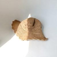 Natural paper shape hat
