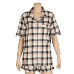 Romantic check pajama(black) / RMPP726GM1