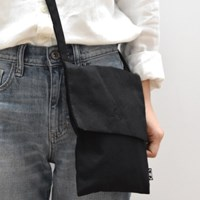 black in black passport bag