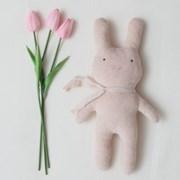 [D.I.Y] 유기농 토끼 애착인형 만들기