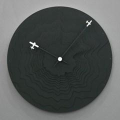 에어플레인 무소음 벽시계
