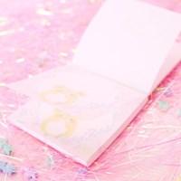 [픽시] 플라워 밀키쮸 메모지 핑크