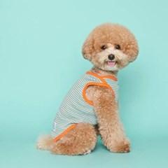 [플로트] 시그니쳐 강아지 민소매 티셔츠 - 프레쉬 민트
