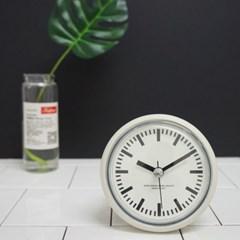 레트로 욕실 방수 시계 (2color) _거치대포함