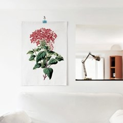 패브릭 포스터 F038 식물 꽃 보타니컬 아트 플라워E