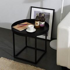 [리퍼브] 스틸 원형 테이블