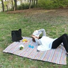 피크닉매트+파우치set - Bohemian