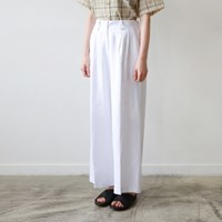 Linen wide 10-pants