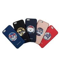 MONTMARTRE DOG ARTIFICIAL LEATHER I PHONE 7 CASE